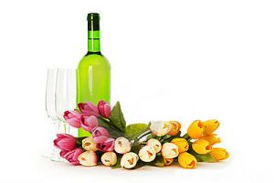 flowers-and-wine