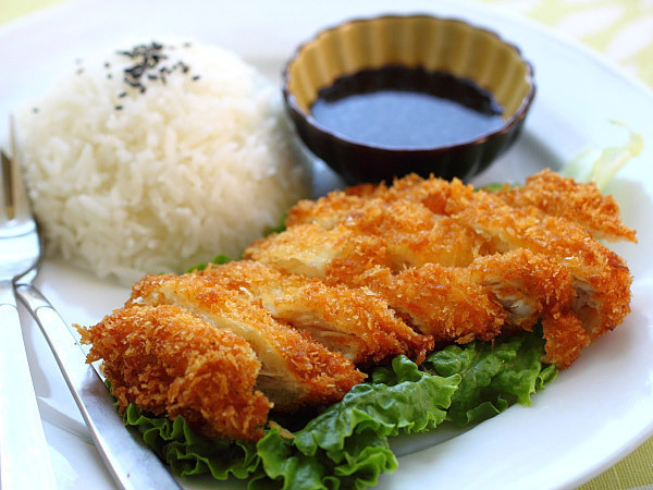 Winter comfort japanese chicken tonkatsu m2hairs blog japanese chicken katsu forumfinder Choice Image