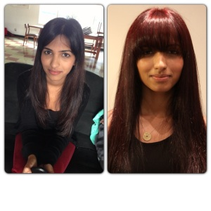 Cool intense violet shades and vibrancy on dark hair with Fashion Lights