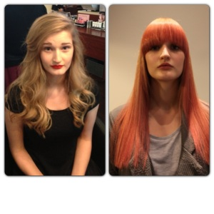 Today's blondes offer a wide palette of tones from totally natural through to pastels