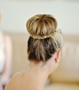 Braid-wrapped-around-bun