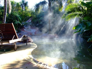 whitianga geo-thermal pools
