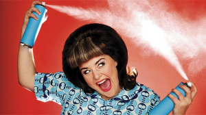 woman-with-hairspray
