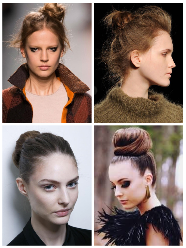 It s makeover season for the classic ballerina bun that sees its delicate  essence take on many new shapes for winter 2015  some polished  other  messy   Winter 2015 hairstyles  key hair trends    m2hair s Blog. Hairstyles Winter 2015. Home Design Ideas