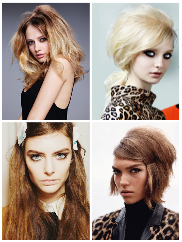 voluminous hairstyles playing upon side swept bangs and subtle teasing  at the crown make for one of the most alluring hair trends for winter 2015 Winter 2015 hairstyles  key hair trends    m2hair s Blog. Hairstyles Winter 2015. Home Design Ideas