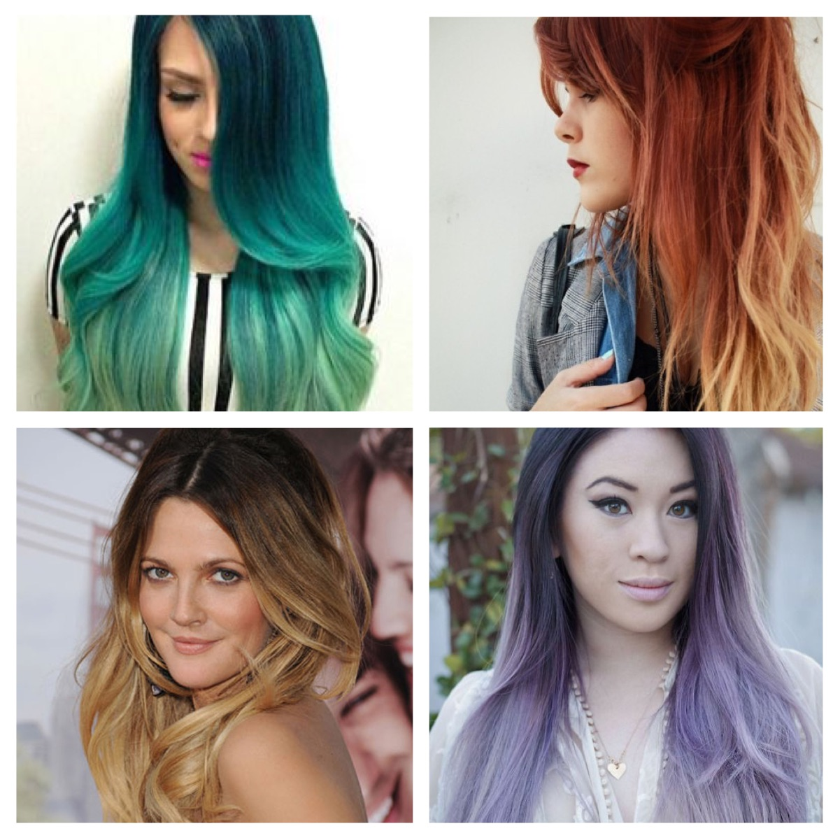 ombre dip dye baby lights balayage its all a foreign language m2hair 39 s blog. Black Bedroom Furniture Sets. Home Design Ideas
